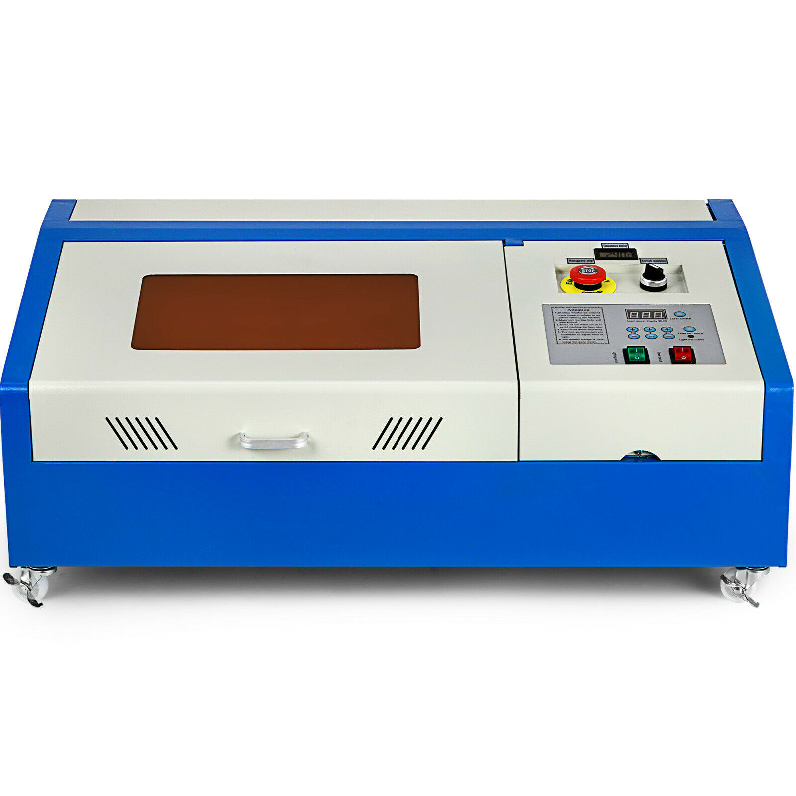 manufacturer price 40w 300*200mm working area co2 laser engraving machine