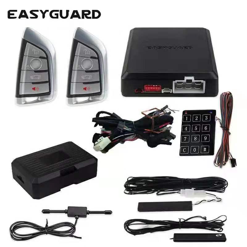 Easyguard can bus plug & play fit BMW F26,E83,F25,E60,E61, f10, F11,F18,F07,F01,F02,F03,F04 autostart PKE car alarm start stop