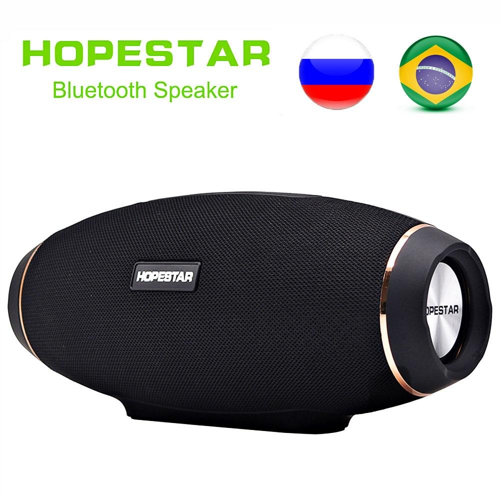 EStgoSZ HOPESTAR H20 беспроводной портативный Bluetooth динамик 30 Вт Водонепроницаемый лучший бас внешний эффект с зарядным устройством USB Mobile AUX