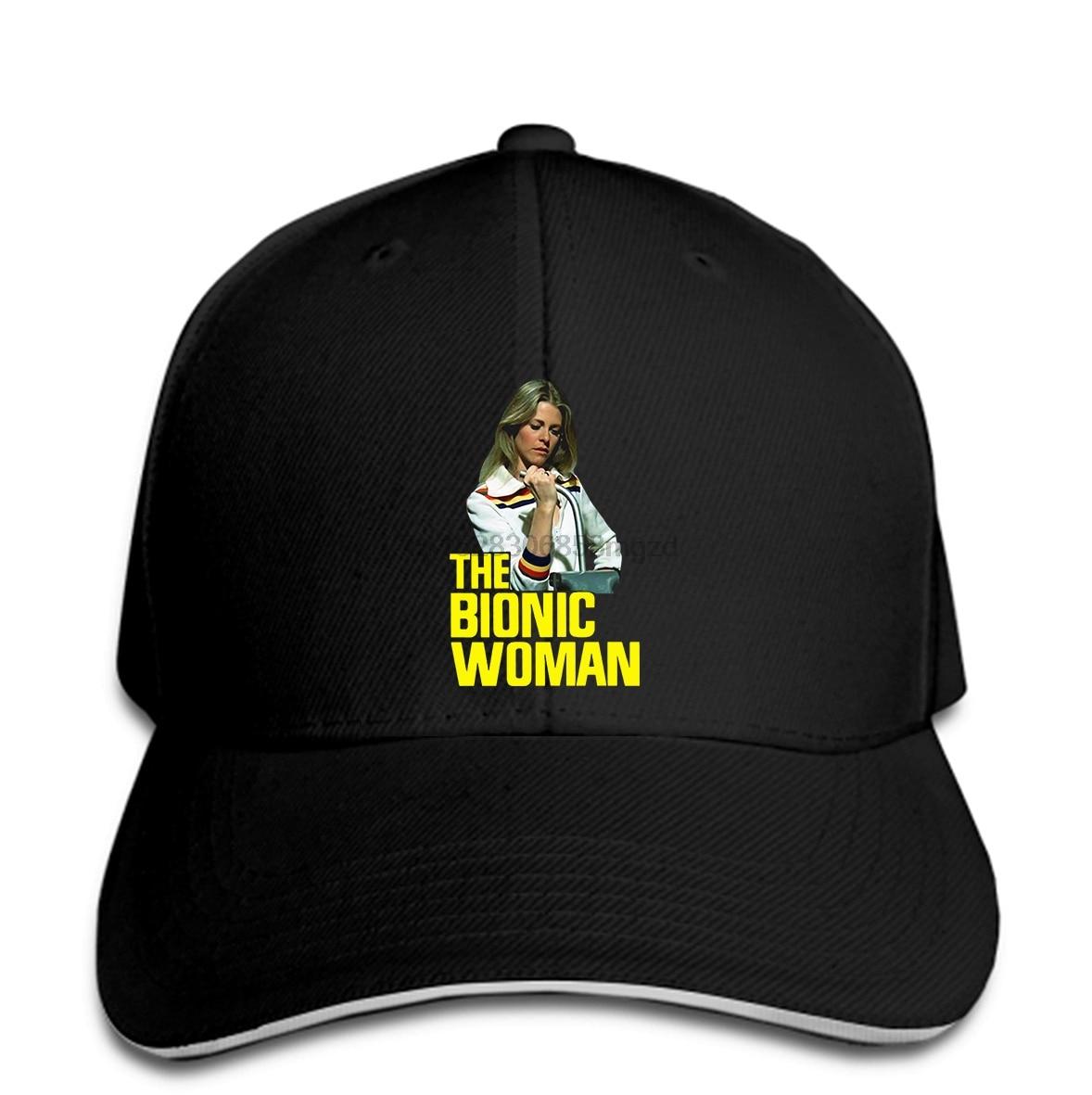 Moda divertida s La mujer biónica gorra de béisbol para hombres con estampado gorra de béisbol para hombres gorras de béisbol para hombre ropa de calle gorra de Snapback