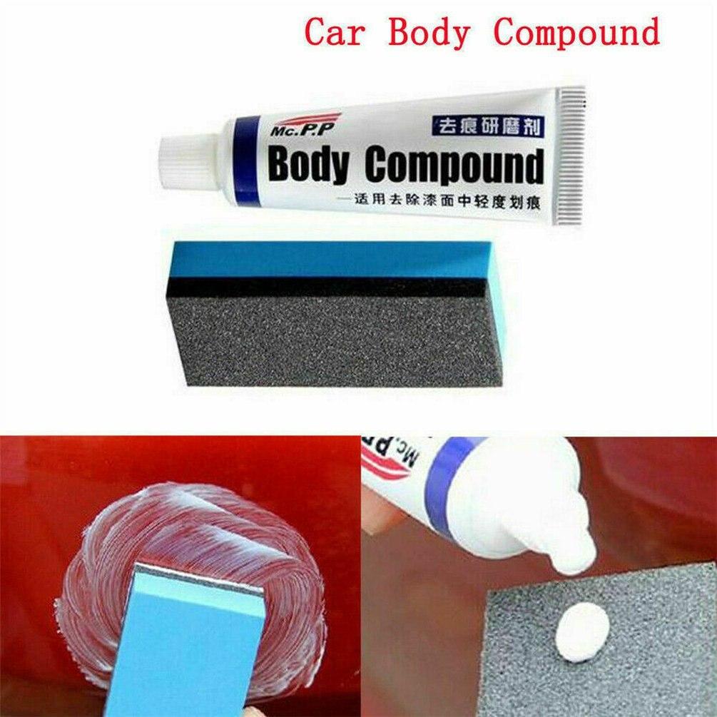 Pintura para rayaduras de coche cuidado pulido para compuestos de coche pasta de reparación exquisitamente diseñado duradero