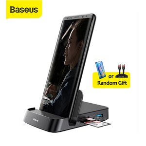 Baseus USB C HUB Dex Station to USB 3.0 HDMI-compatible USB HUB for Samsung S20 Note 20 Huawei P40 Mate 30 Type C Dock Station