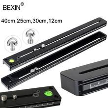 BEXIN téléobjectif caméra plaque de montage à dégagement rapide plaque accessoires pour caméra m lock arca rail trépied plaque de dégagement rapide