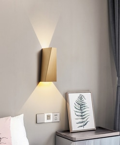 LED Wall Lamp Living Room Bedroom Wall Lamp Study Bathroom Aisle Stairwell Wall Light Creative Background Wall Lamps RF70