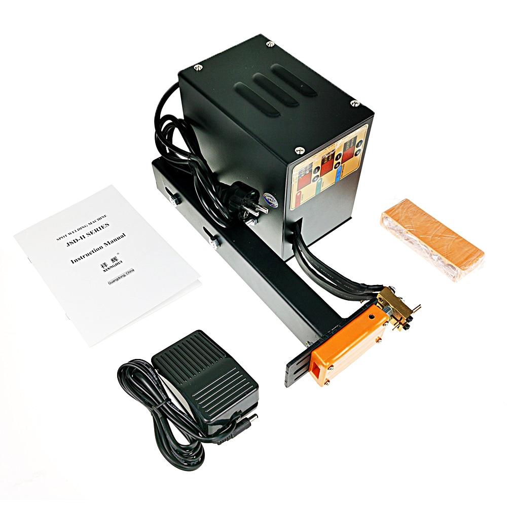 JSD-IIS spot welder, Household Manual point welder, lithium battery welder, small battery welder 110V / 220V