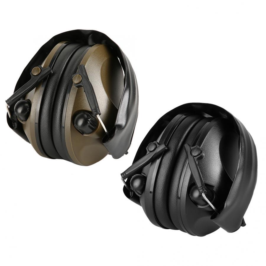 Tac 6s anti-ruído fone de ouvido de áudio tiro tático fone de ouvido macio acolchoado earmuff eletrônico para esporte caça esportes ao ar livre