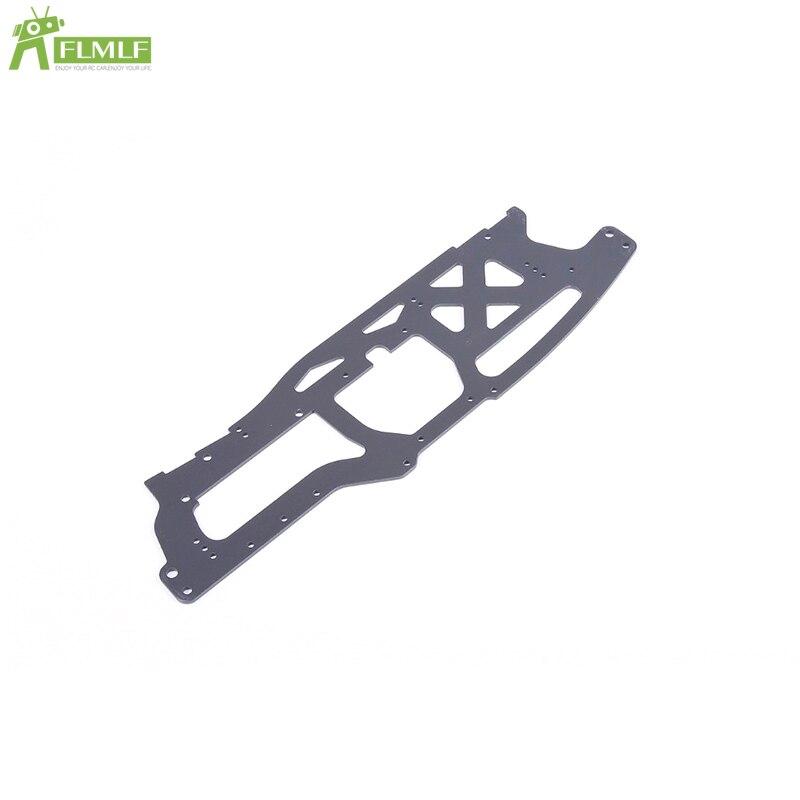 Placa protectora lateral izquierda o derecha anodizado duro apto para 1/8 Rofun Rovan TORLAND Monster Brushless Truck Toys Parts