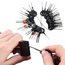 Инструмент для снятия автомобильной клеммы провод с разъемом для подключения к экстрактор Съемник Для штырь экстрактор комплект для автомобильной розетки инструмент для ремонта, аксессуары