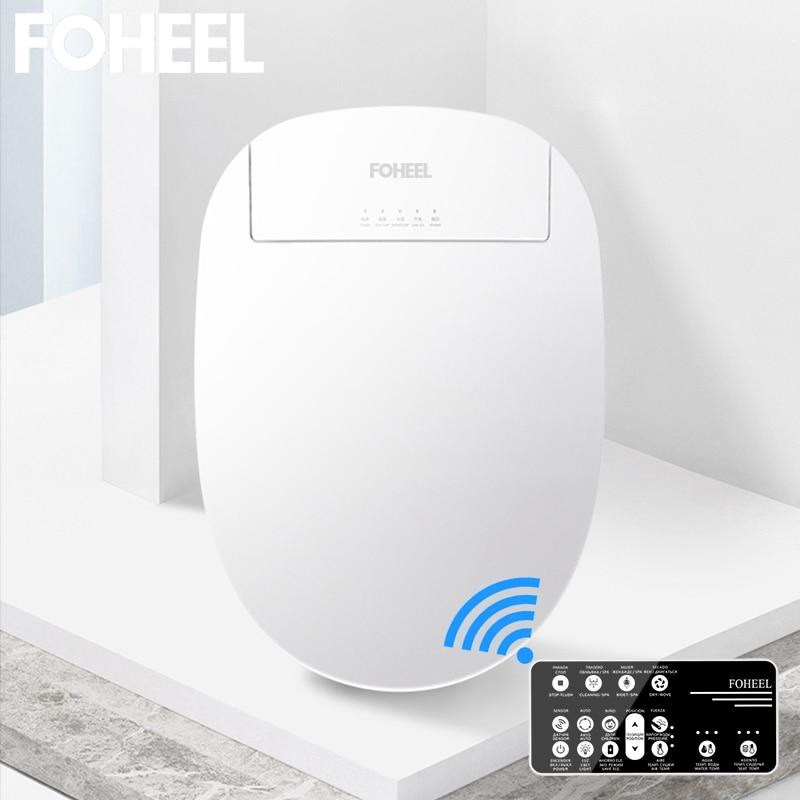 فوهيل بيديه كهربي غطاء الذكية بيديت ساخنة المرحاض مقعد مصباح ليد Wc مقعد مرحاض ذكي غطاء مقعد توليت ذكي