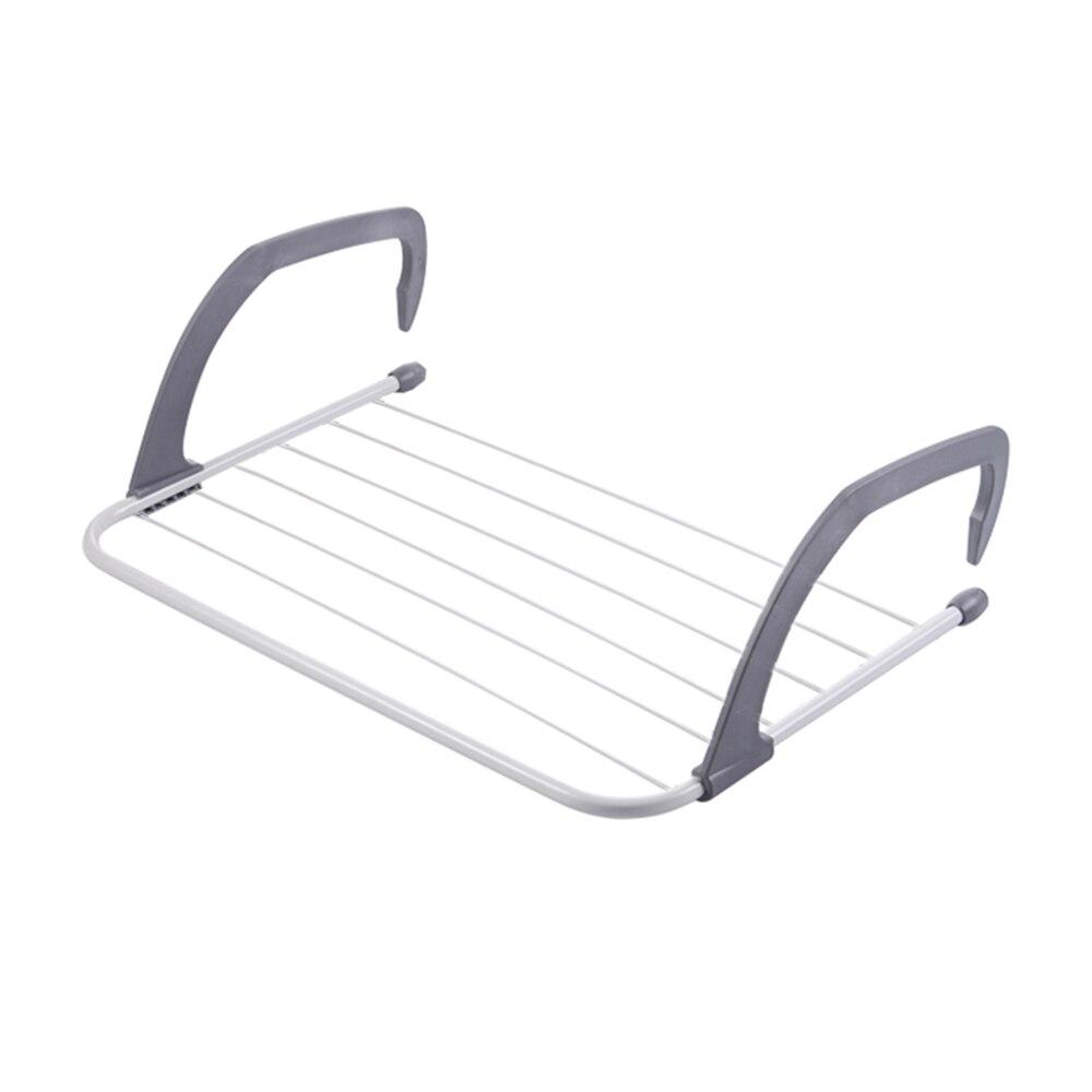 Multi-funcional innovadores ropa suspensión plegable portátil colgador para radiador colgando Rack estante de ropa toalla titular toalla