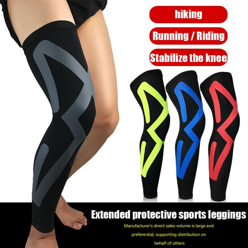 Support pour les jambes   Bas de chaussettes à manches de Compression pour hommes et femmes, soutien-gorge avec veines variques et au genou, 2020