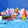 Имитация кораллы, морские звезды, аквариум, миниатюрный Сказочный Сад, микро пейзаж из мха, сделай сам, рыба, культура, черепаха, Террариум, аксессуары