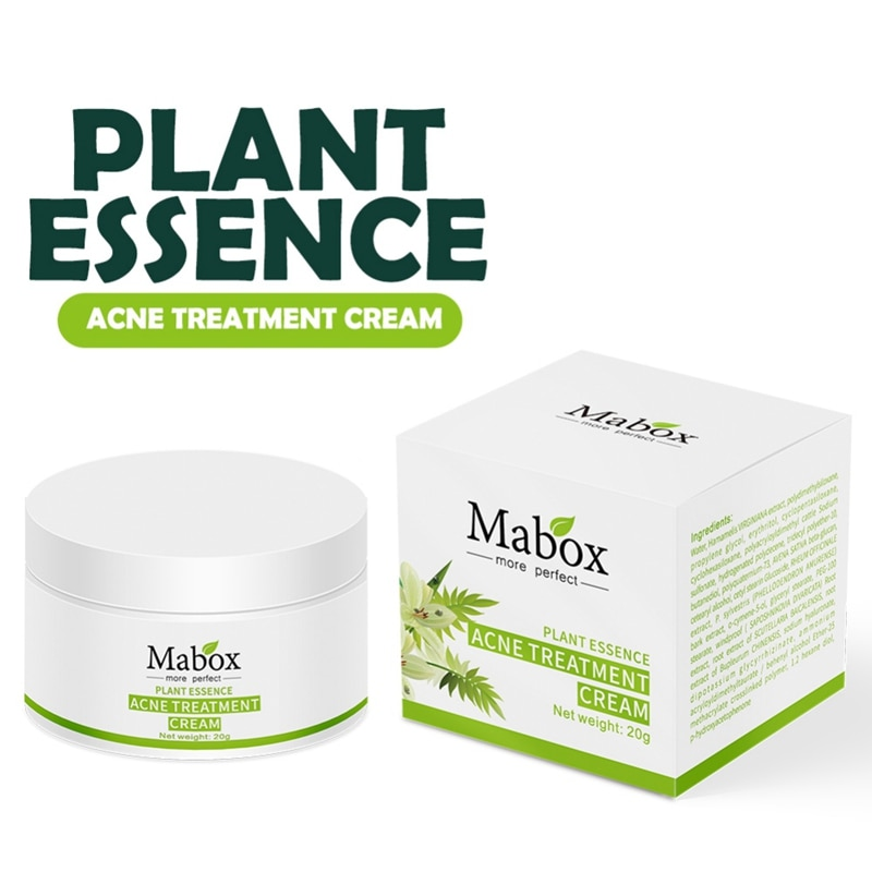 Plant Essence Acne Treatment Cream Moisturizing Nourishing Skin Oil-Control Face Skin Care Anti-acne Cream недорого