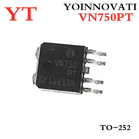 50 sztuk/partia VN750PT VN750 TO-252 IC najlepsza jakość