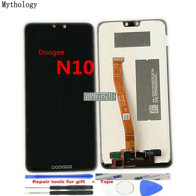 For Doogee N10 Display Touch Screen Digitizer Assembly Repair Parts 5.84'' Replacement Mobile Phone