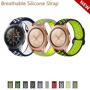 20mm 22mm Silicone Band Strap for Samsung Galaxy Watch 42mm 46mm Replacement Watchband