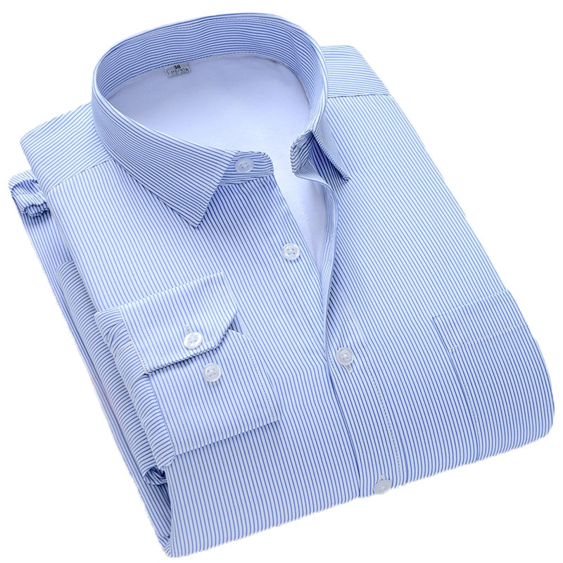 Брендовая осенне-зимняя деловая Повседневная рубашка Aoliwen, простая Стильная Мужская Фланелевая теплая рубашка с длинными рукавами и вертик...