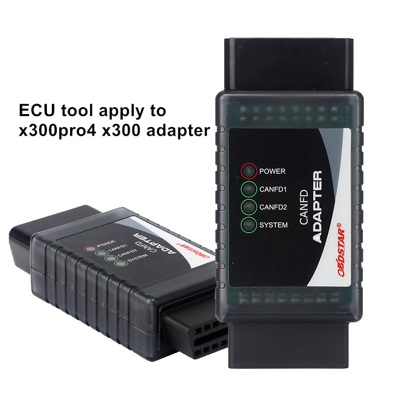 OBDSTAR CAN FD Adapter Apply to X300PRO4/X300 DP PLUS Flasher Diagnosis Tool for ECU systems meeting with CANFD protocols