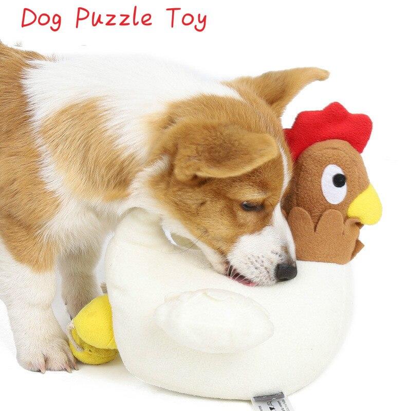 ألعاب تشذيب الكلب ، بيت الدجاج المضحك ، يخفي الطعام ، تدريب الحيوانات الأليفة ، دمية قطيفة ناعمة ، ألعاب ألغاز تغذية تفاعلية للجرو