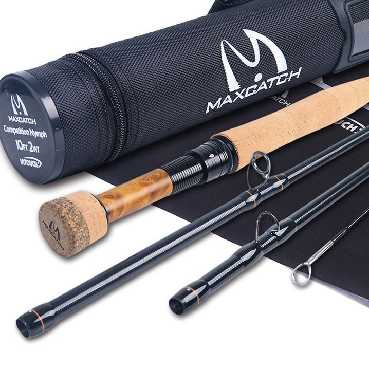 2/3WT Competition  Fly Rod IM12/40T+46T Carbon Fiber 10/10.5FT Moderate Euro Nymphing Fly Fishing Rod