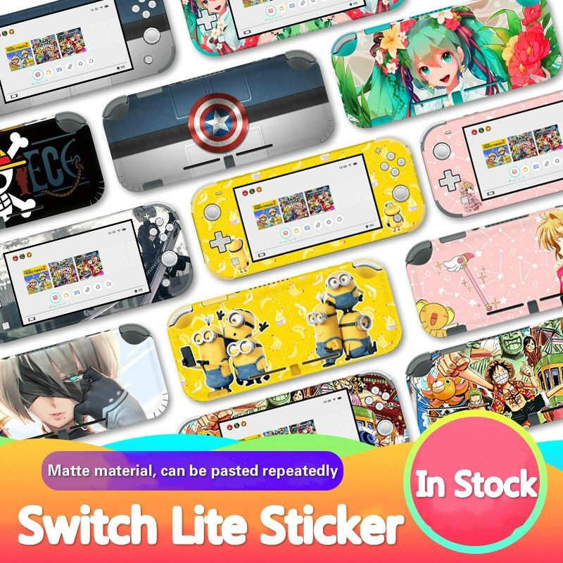 Anime Switch Lite Sticker Vinyl Screen Skin Stickers for Nintendo Switch Lite NS Console Nintend Switch Lite Skins Sticker
