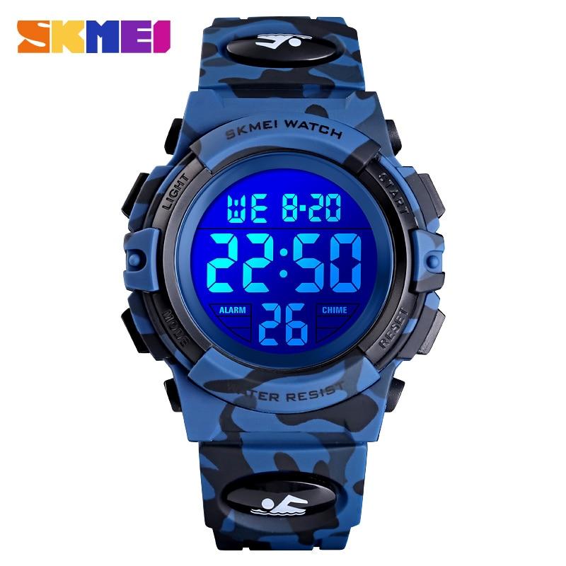 SKMEI 1548 Sport Children Watches Boys Girls Clock Fashion LED light Electronic Kids Wristwatch Clearance Sale dropshipping