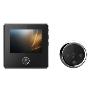 C05 Doorbell Camera, Home Multifunctional 3.0-Inch High-Definition Display Cat Eye Door Surveillance Camera