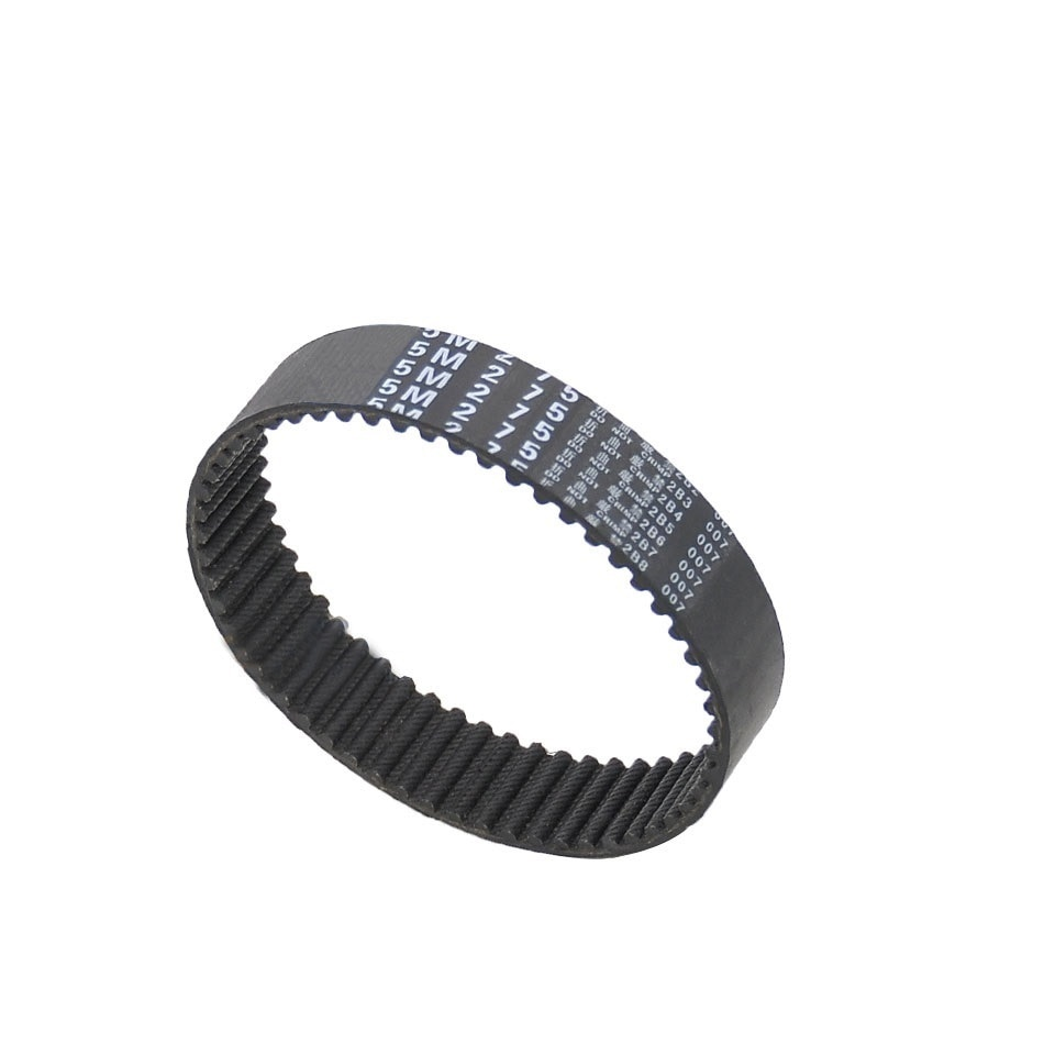 htd 3m timing belt width rubbe toothed belt closed loop synchronous belt pitch 5mm 1Pcs HTD 5M-250 To 5M-300, Closed Loop Timing Belt, Synchronous Belt Black Rubber Width 15mm Pitch 5mm