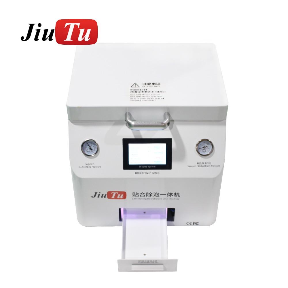 Jiutu 15 Inch Vacuum OCA Lamination Machine Built in UV Box For iPad For iPhone Edge Screen Repair