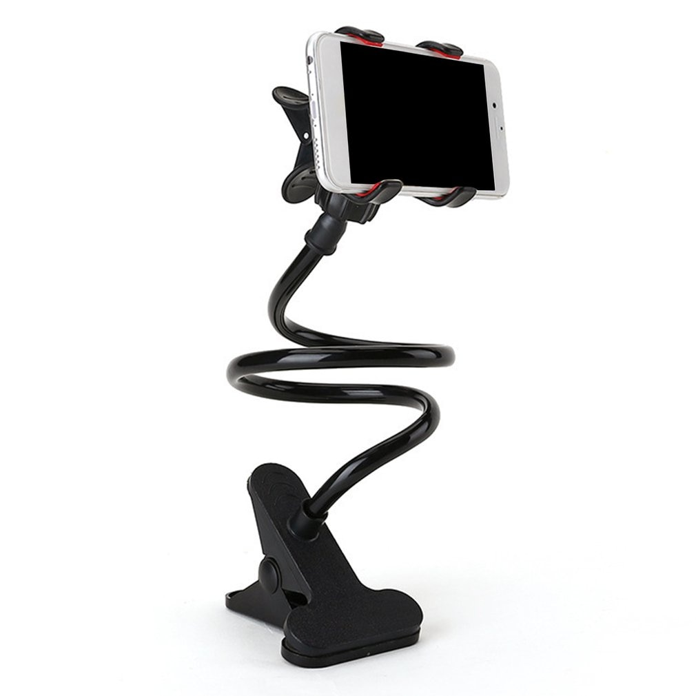 Universal Flexible Holder Arm Lazy Mobile Phone Stand Holder Stents Flexible Bed Desk Table Clip Bracket holder for Phone