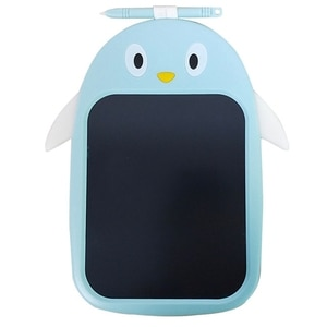 8.5 Inch LCD Writing Tablet Colorful Doodle Electronic Drawing Pad Blue Reusable Board for Boys Girls Age 2-8 Year Old