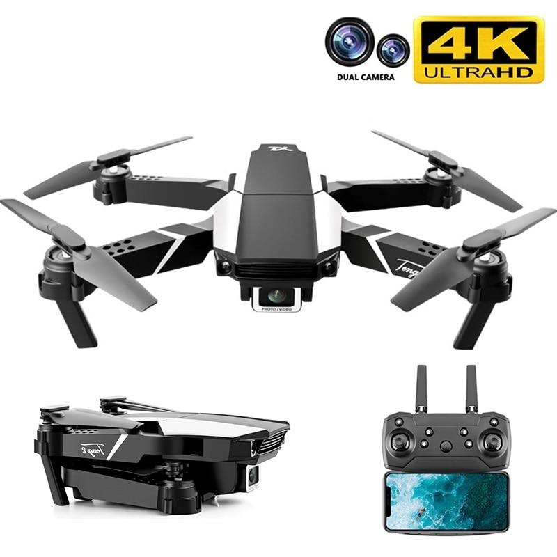 Drone Câmera Dupla Posicionamento Visual 1080p Wifi Fpv Altura Preservação rc Quadcopter S62 Pro Drones Brinquedos 4k hd