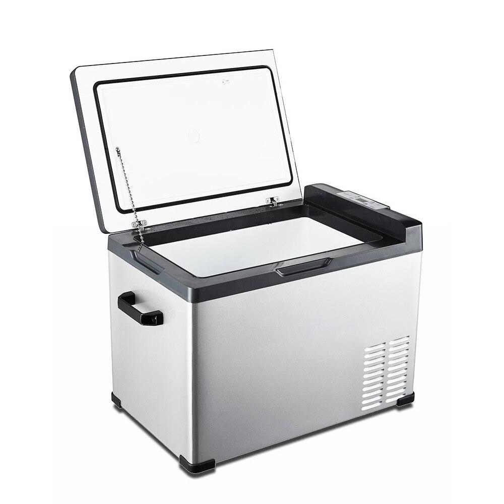 Компрессор автомобильного холодильника холодильного автомобиля 12V 24V грузовик мини-морозильник автомобиля дома двойного Применение замор...