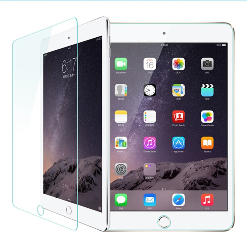 Ipad ultra fino 9h anti-reflexo risco de vidro temperado protetor de tela à prova de explosão película protetora para apple ipad mini 1 2