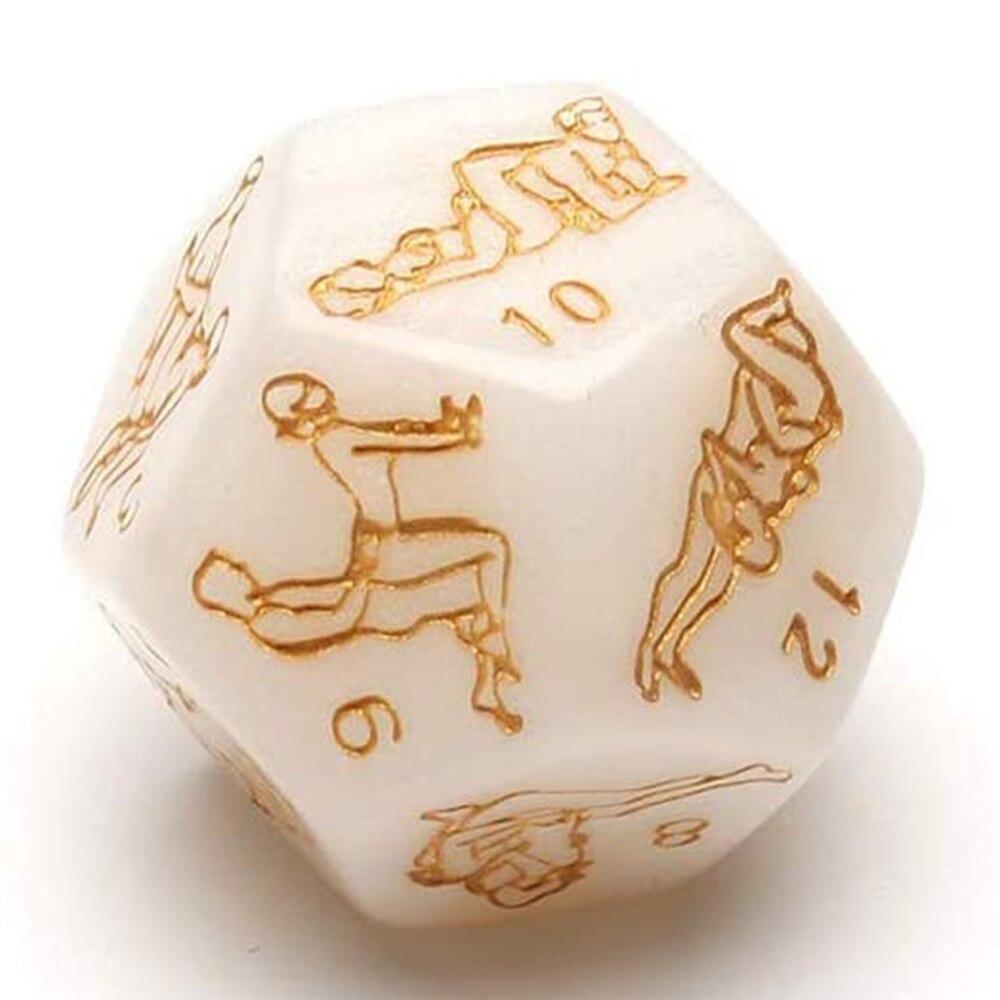 Игральные кости для пар, 4 шт., секс-игральные кости, набор игрушек для взрослых, пары, Мальчишник, вечевечерние, подарок, Секс-игра PUO88