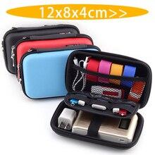 EVA Mini Portable Earphone Bag Coin Purse Headphone USB Cable Case Storage Box Wallet Carrying Pouch Bag Earphone Accessories