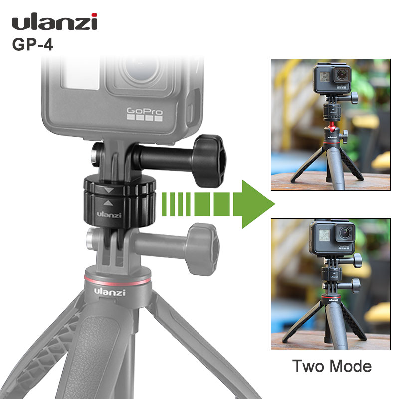 2021 Brand New Ulanzi GP-4 Quick Release Buckle Set for Gopro 9 8 Max 7 6 5 Universal Quick Switch Kit Gopro Accessories