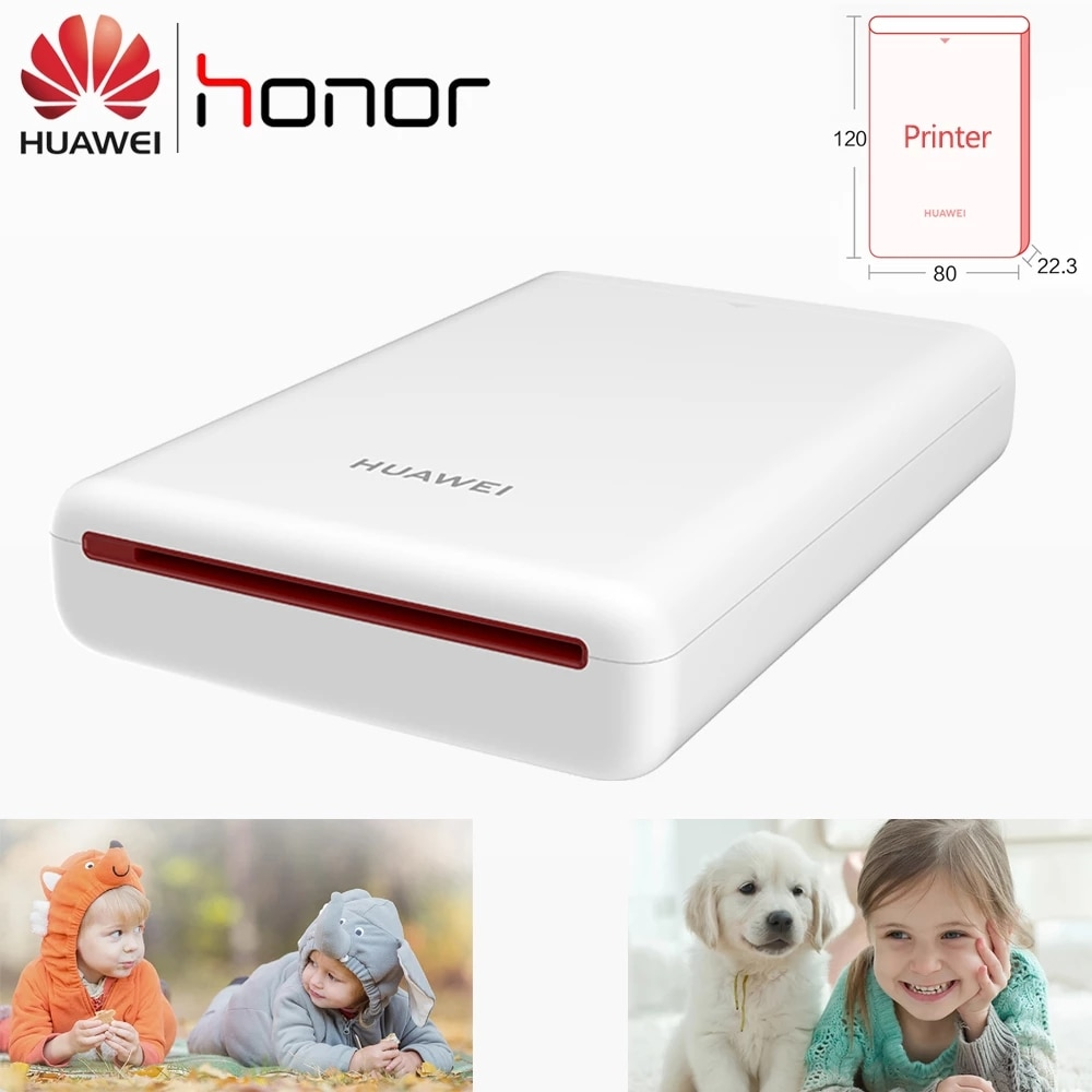 Huawei Portable Photo Printer CV80 Bluetooth Wireless Connection Polaroid Camera Mini Pocket Photo Printing Global Version