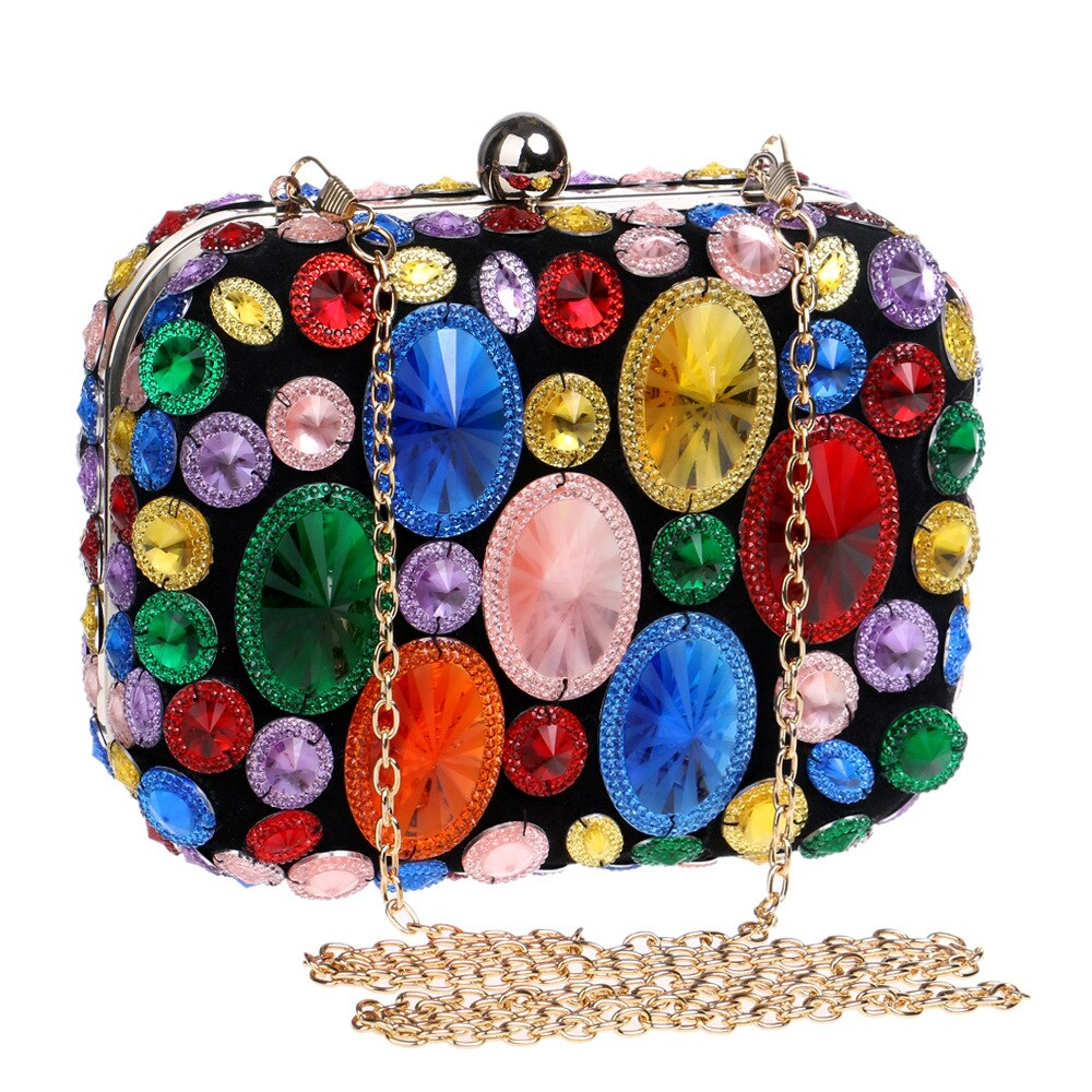 New Fashion Sequined Scrub Clutch Women's Evening Bags Bling Day Clutches Gold Wedding Purse Female Handbag 2019