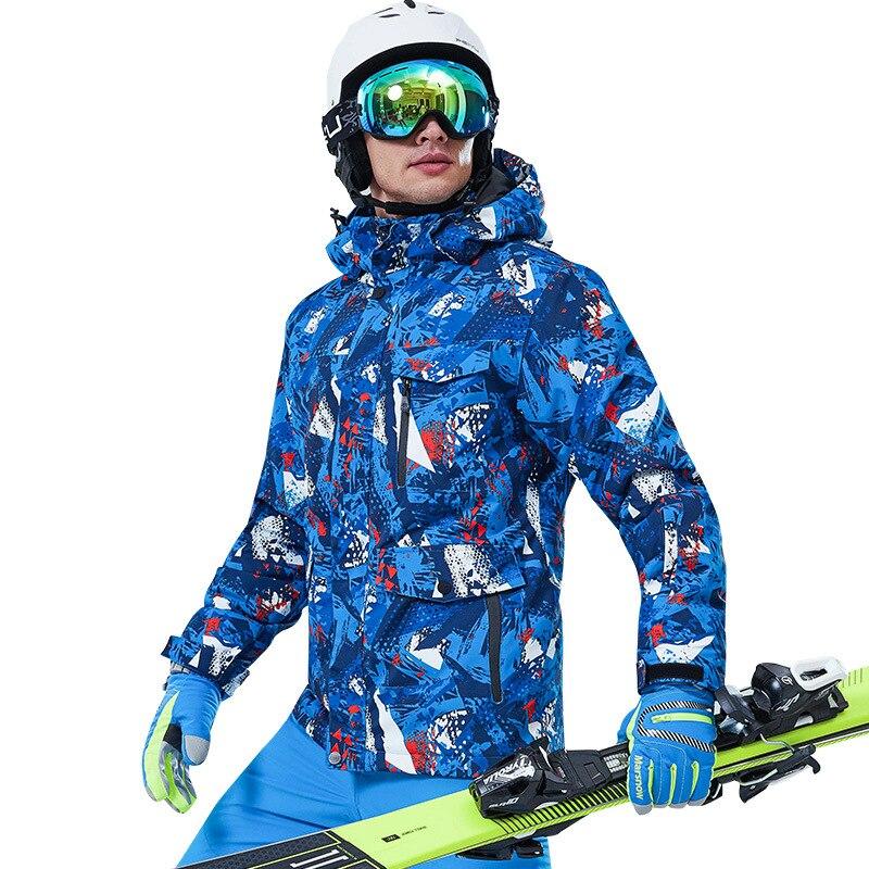 Snow Clothes Ski Equipment Wear Race Suit Snowboard Jacket Snowsuit Men Skiing Chaquetas Traje Esqui Mujer Winter Jackets BJ50HX