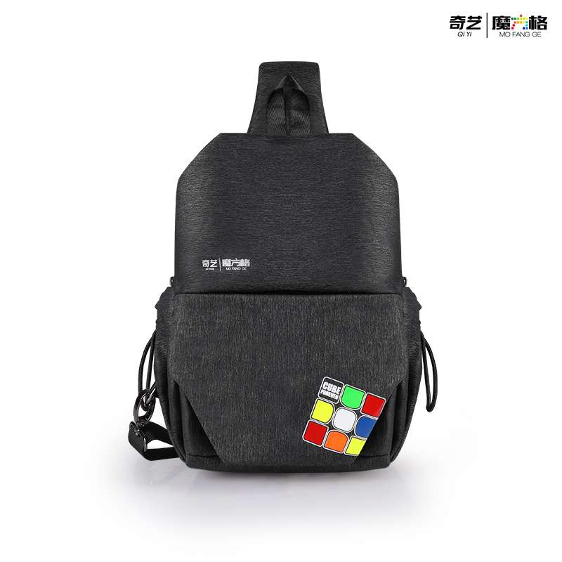 Qiyi mochila profesional para el pecho para 2x2 3x3x3 4x4 5x5 6x6 7x7 8x8 9x9 10x10 cubo mágico con rompecabezas regalo de Juguetes