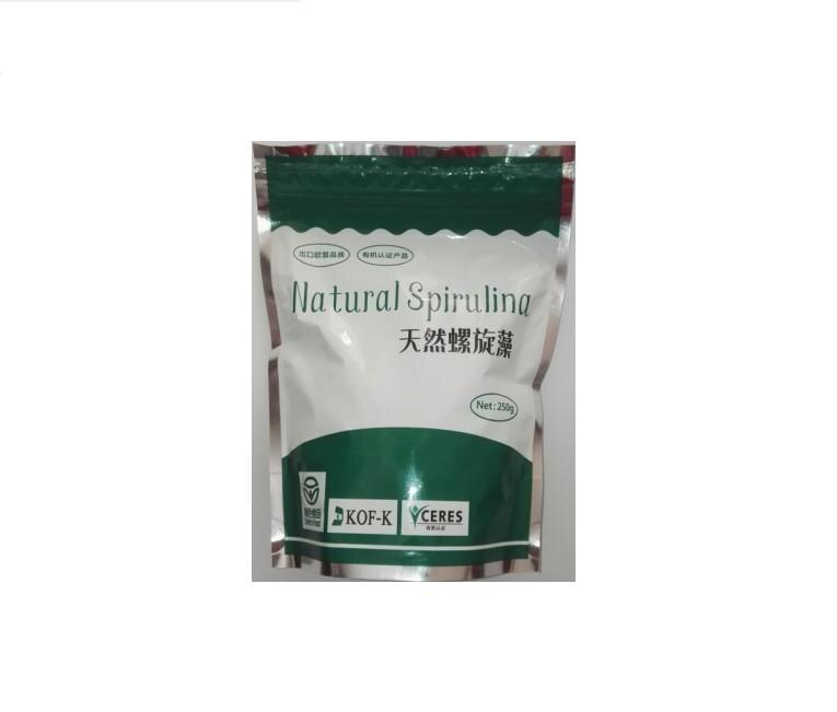 17.6oz 500g orgânico certificou comprimidos spirulina naturais multi-vitamina 0.25gx2000 anti-fadiga perda de peso suplemento