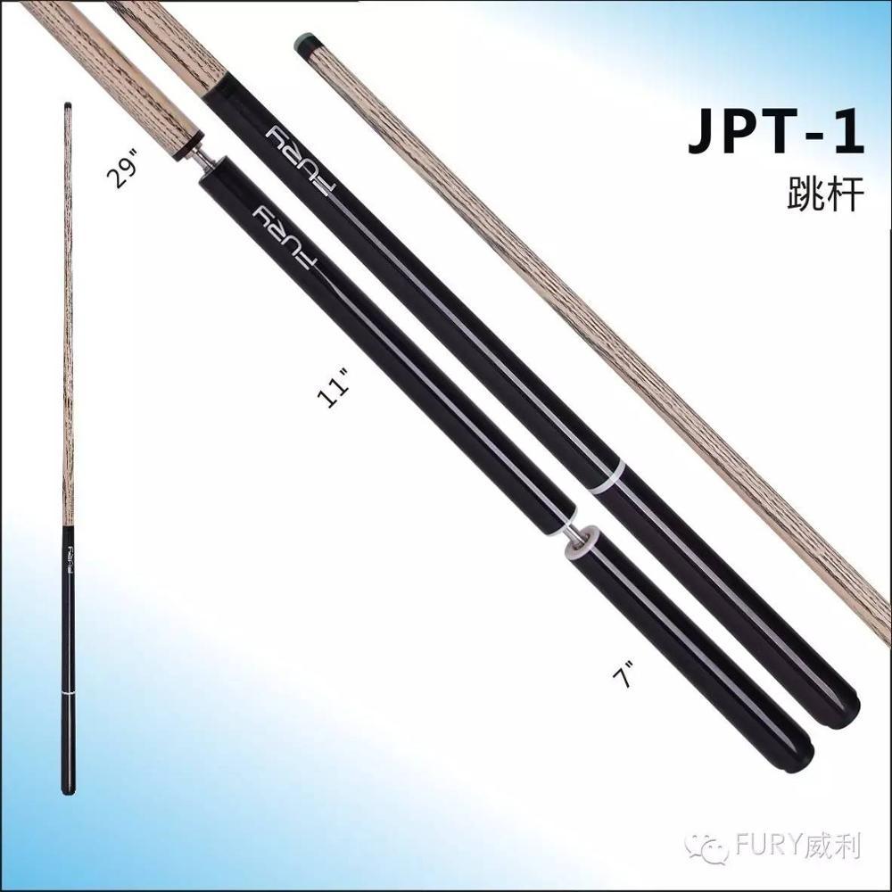 FURY JPT-1 Jump Cue 13mm G10 Punta Negra casquillo de baquelita eje de ceniza duro Q5 Junta ergonómica palo de salto profesional de billar