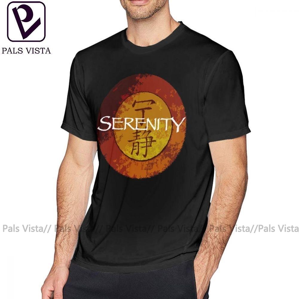 Camiseta Firefly, camiseta Serenity, divertida camiseta de talla grande estampada para playa, de manga corta, camiseta 100 de algodón para hombre