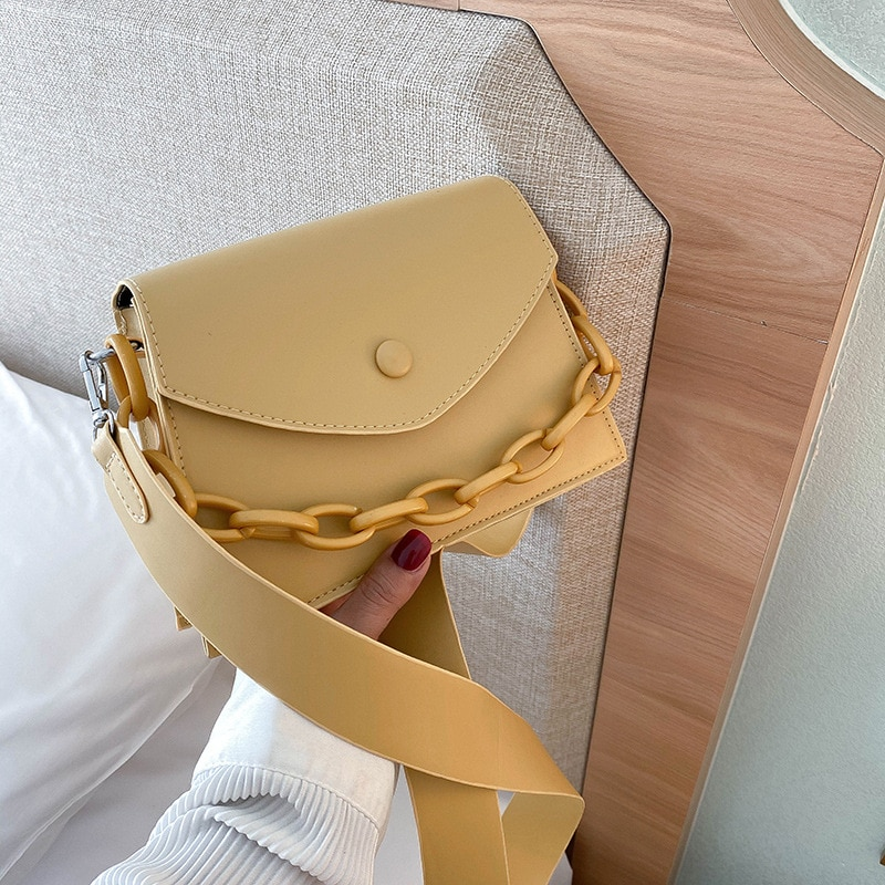 RanHuang New Arrive 2020 Women's Fashion Flap Pu Leather Small Handbags Girls Designer Shoulder Bags White Crossbody Bags A1799