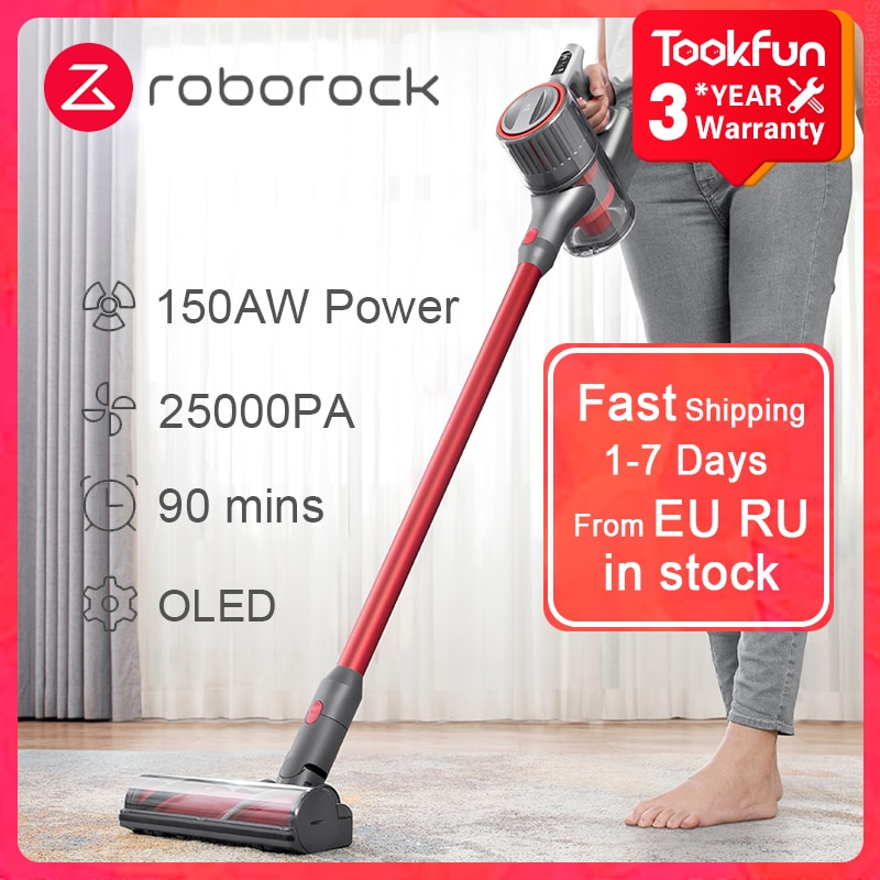 New Roborock Handheld Vacuum Cleaner H6 For Home Car Wireless Sweep Multi functional Brush 25000Pa cyclone Suction Dust Catcher