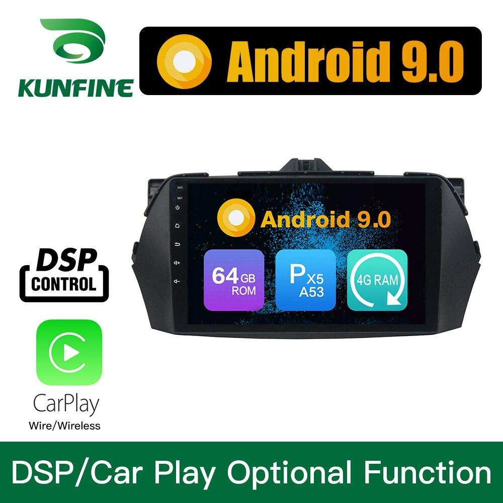 Android 9.0 Octa Core 4GB RAM 64GB ROM Car DVD GPS Navigation Multimedia Player Car Stereo for Suzuki Ciaz 2013-2017 Radio