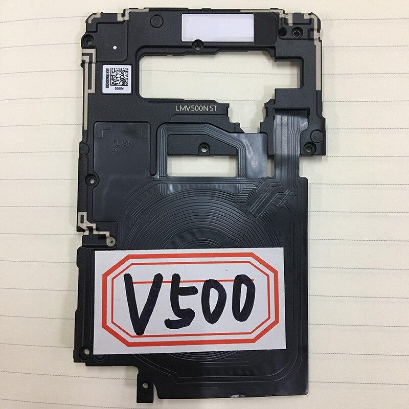 ZUCZUG nuevo soporte de bastidor medio con antena NFC para LG G7 G710 G8 G820 V30 V45 V50 pieza de reparación