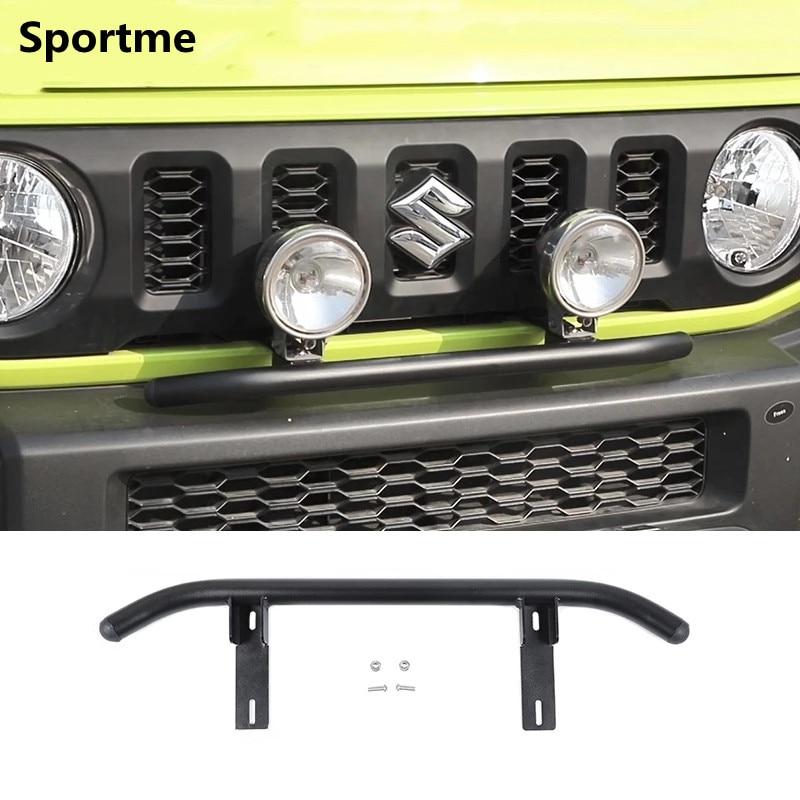 Sportme Car Front Bumper Spotlights Bracket For Suzuki Jimny 2019 2020 Car Styling Off-road Modified Accessories