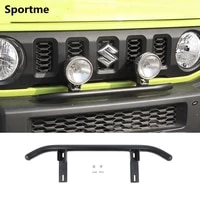 sportme car front bumper spotlights bracket for suzuki jimny 2019 2020 car styling off road modified accessories